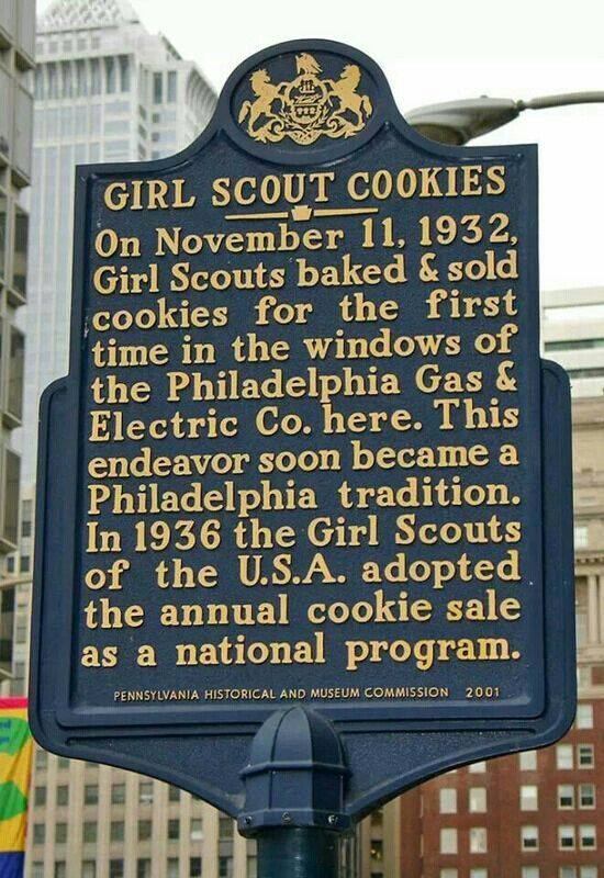 Who Knew The History Of Girl Scout Cookies In Philadelphia