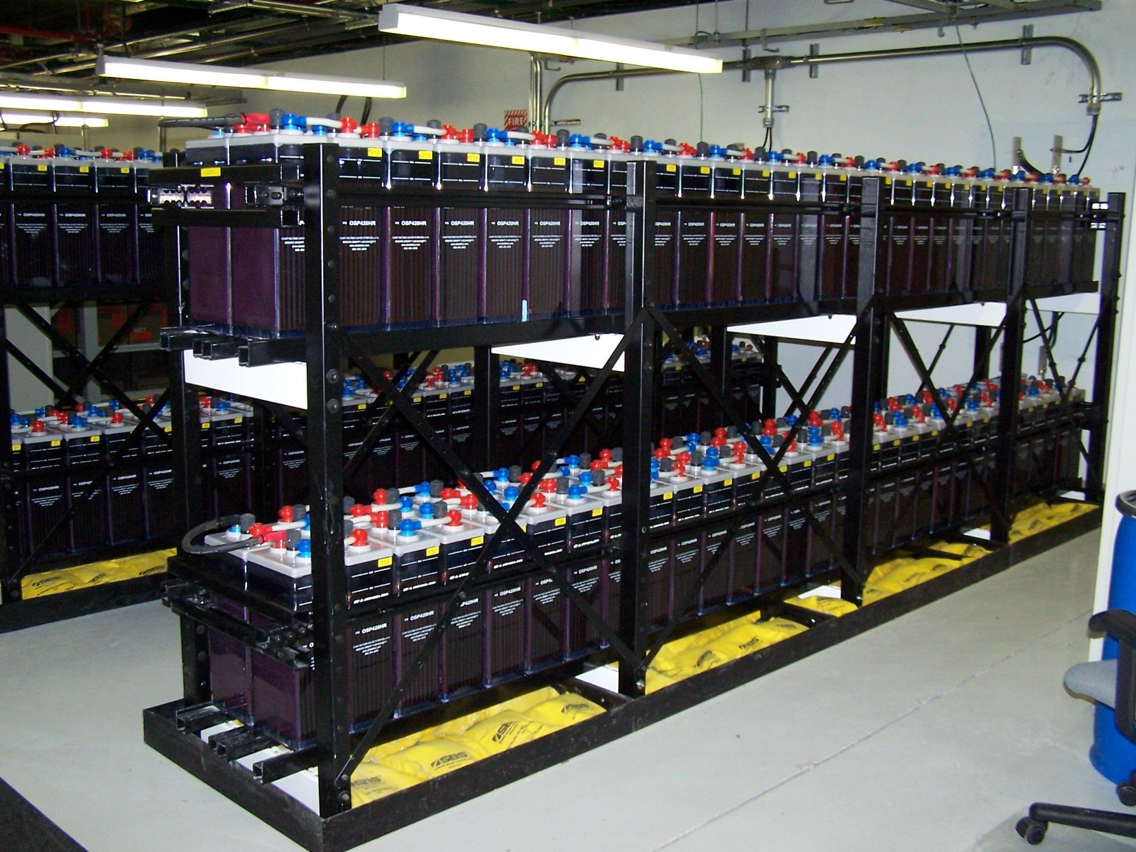 Battery Enclosure Venezuela Battery Spill Containment