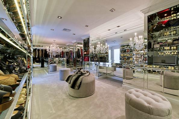 Luxury Walk In Closet mirrored walk in closet - contemporary - closet | for the home