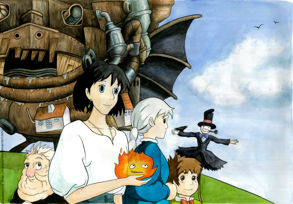 Howl's Moving Castle by on