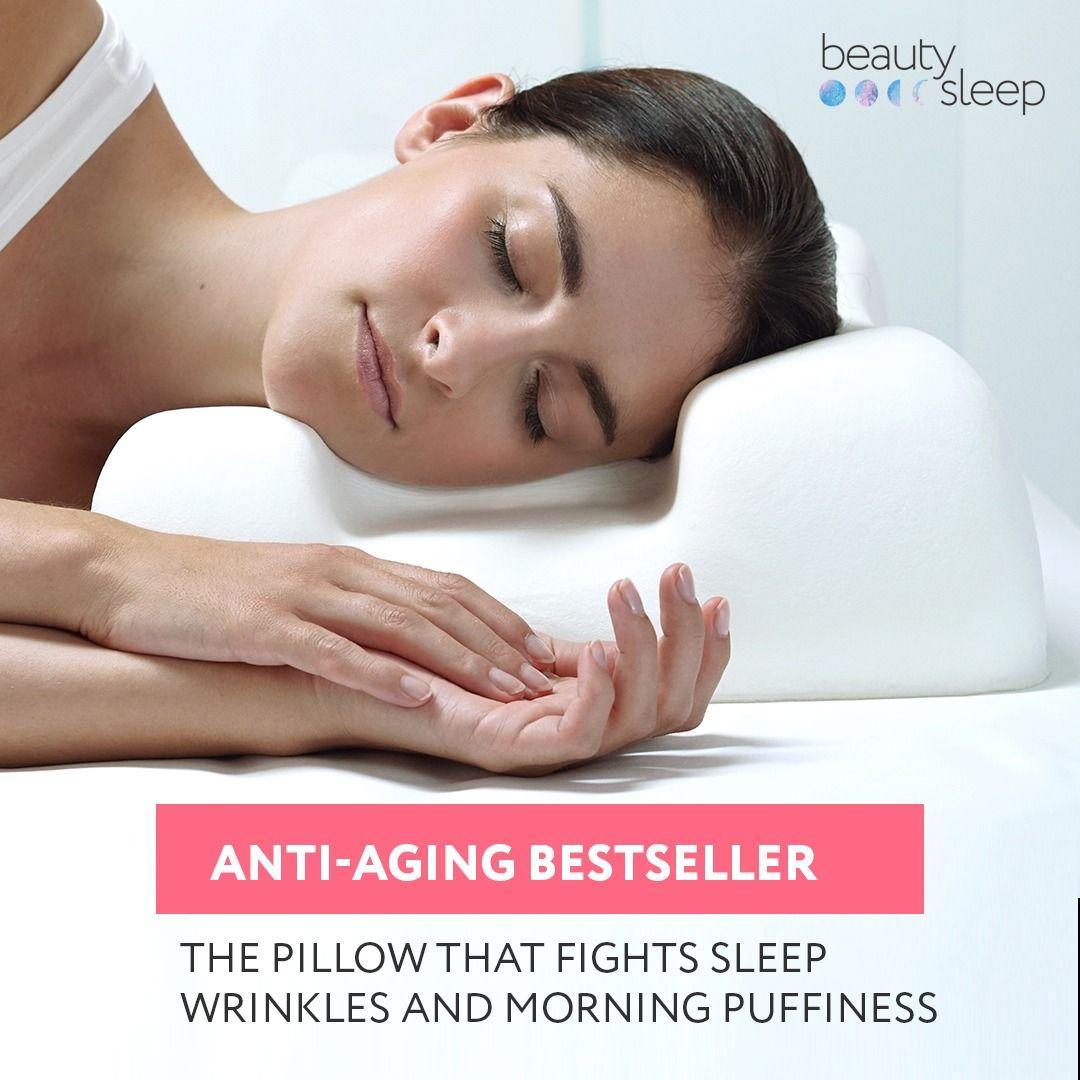 sleep wrinkles anti aging pillow