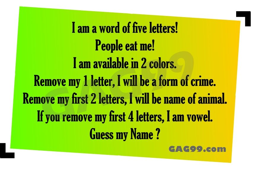 I Am A Word Of Five Letters Riddles And Puzzles Pinterest
