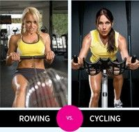 Cardio Combat Rowing Vs Cycling Fitness Inspiration Body