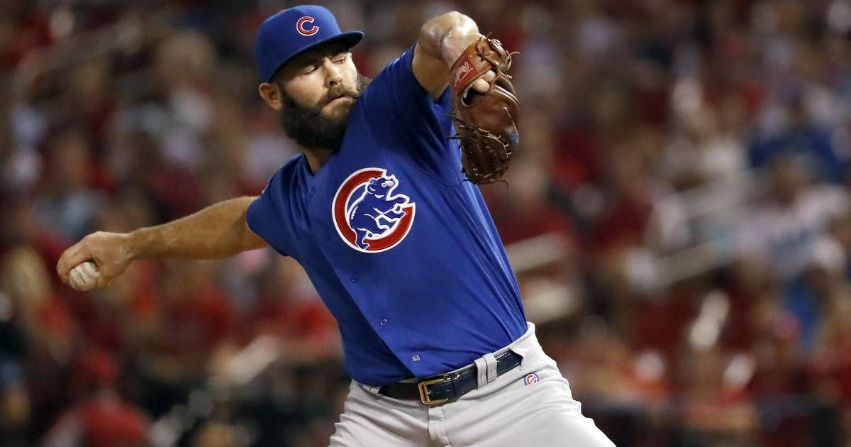 Workout plan altered for Chicago Cubs' Arrieta Jake