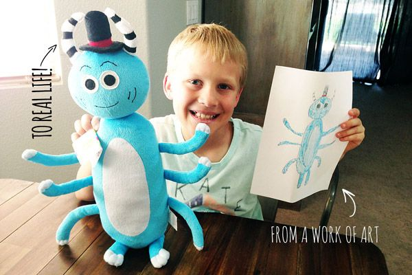 Amazing What This Company Does with Kids' Art!