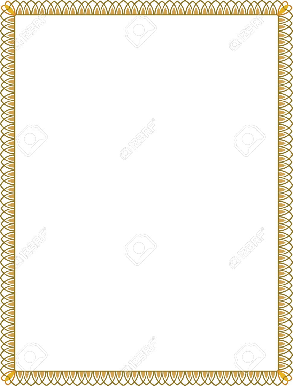 Image result for thin certificate borders Page borders Pinterest