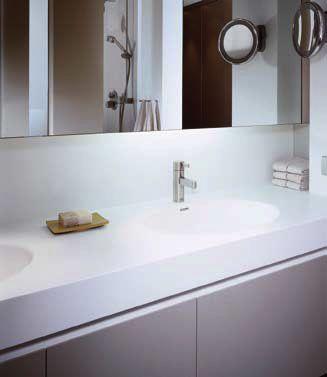 Solid Surface Bathroom Worktops Corian Hanex Staron Mistral Tristone