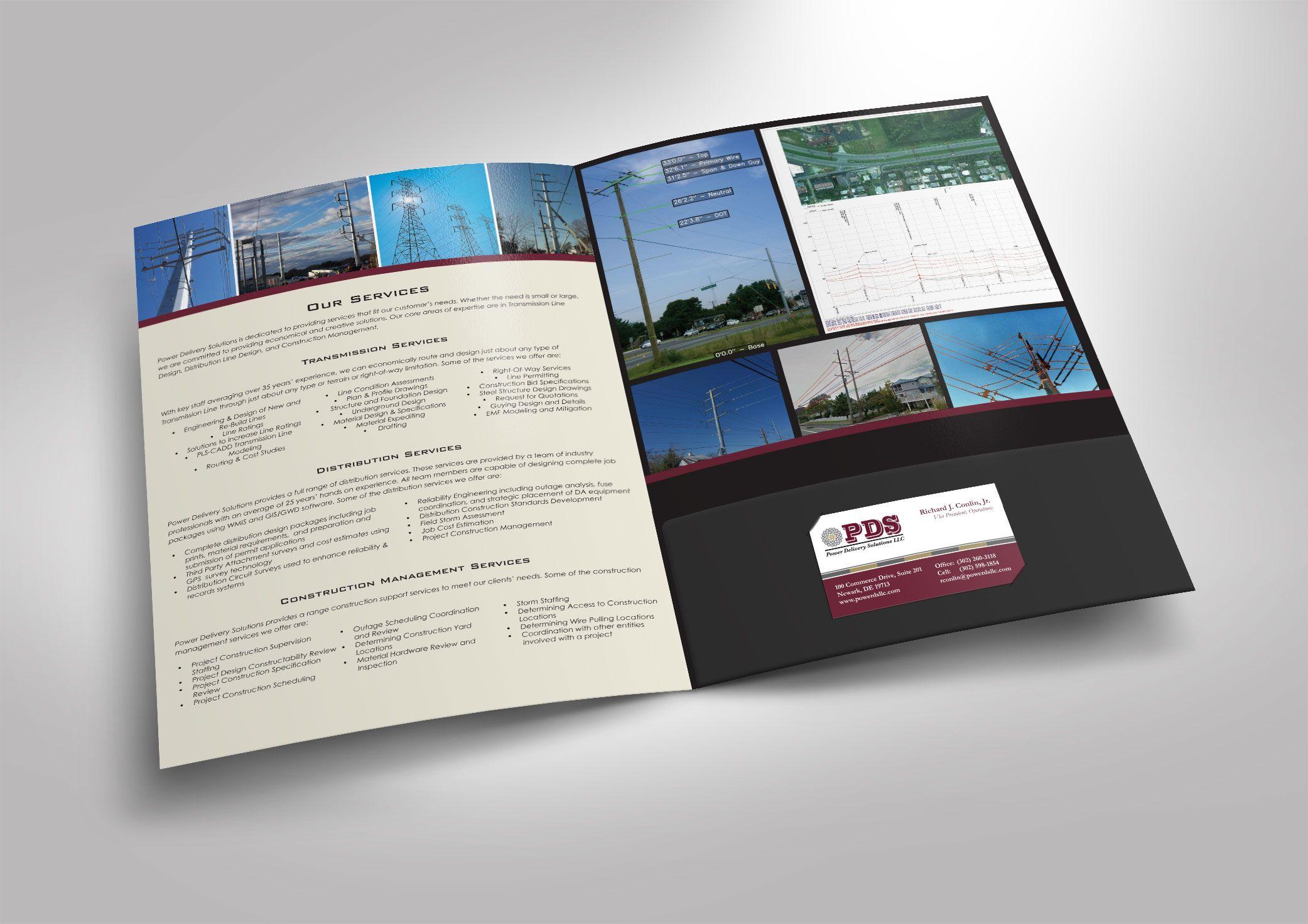 Presentation Folder Design | Business | Pinterest | Presentation ...