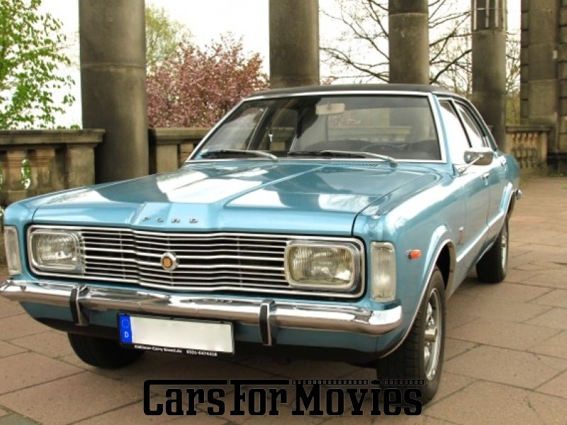 ford 1400 taunus / xl , usa 1972 - carsformovies - filmfahrzeuge
