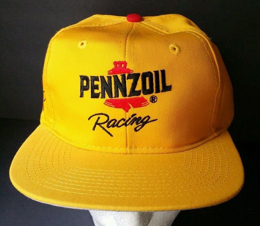 NASCAR hat Pennzoil Racing cap Snap Back  30 Michael Waltrip Checkered flag  NEW  CheckeredFlag  Pennzoil 3900599341f2
