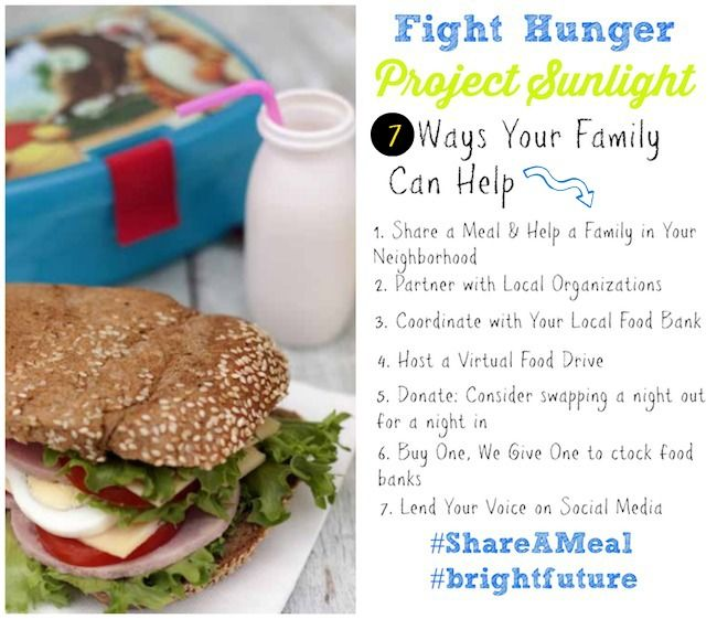 7 ways your family can fight childhood hunger. Some are local some are national, all are relatively easy and can add up to make a huge difference in the fight agains food insecurity in the US. Perfect for any moms trying to think of Thanksgiving and ways to give back. #ShareaMeal| MomTrends