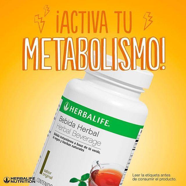 Activa tu metabolismo quema grasa proporciona energ a quita la ansiedad te herbalife c mpralo - Quema grasa desde casa ...