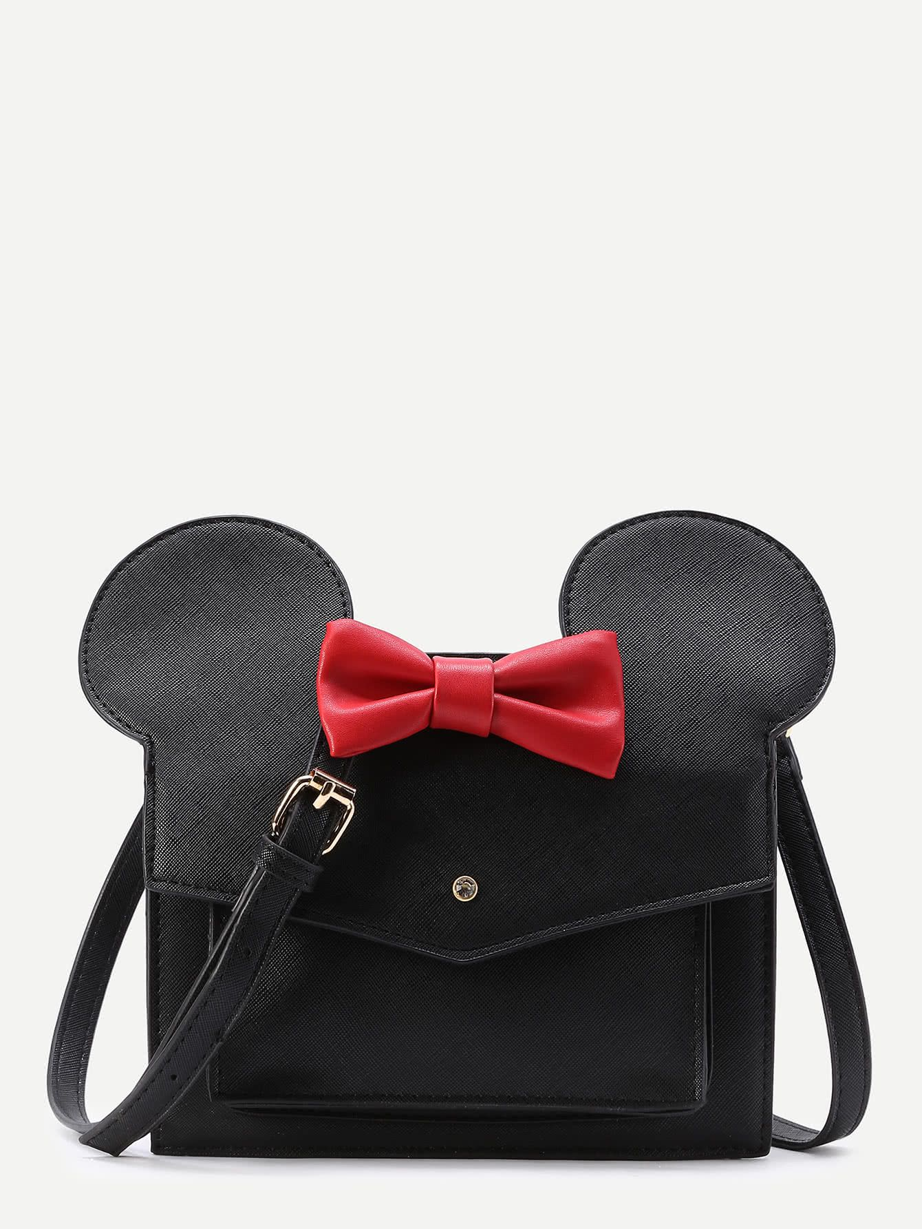Shop Mickey Design Cute PU Shoulder Bag online. SheIn offers Mickey Design Cute PU Shoulder Bag & more to fit your fashionable needs.