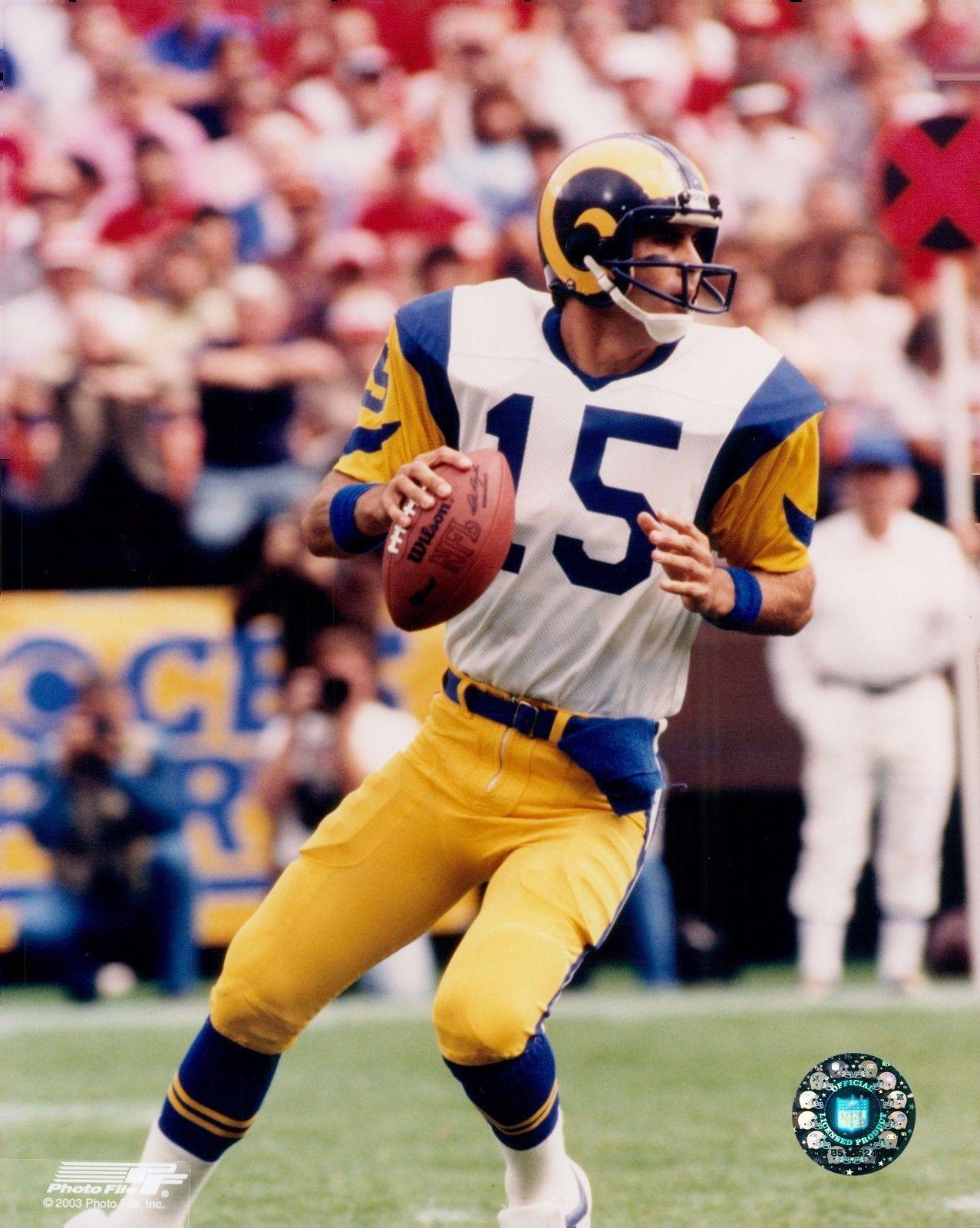 Details about Vince Ferragamo 15 Los Angeles Rams