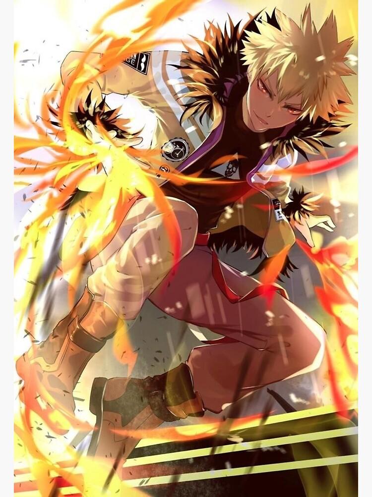 My Hero Academia - Bakugo Poster