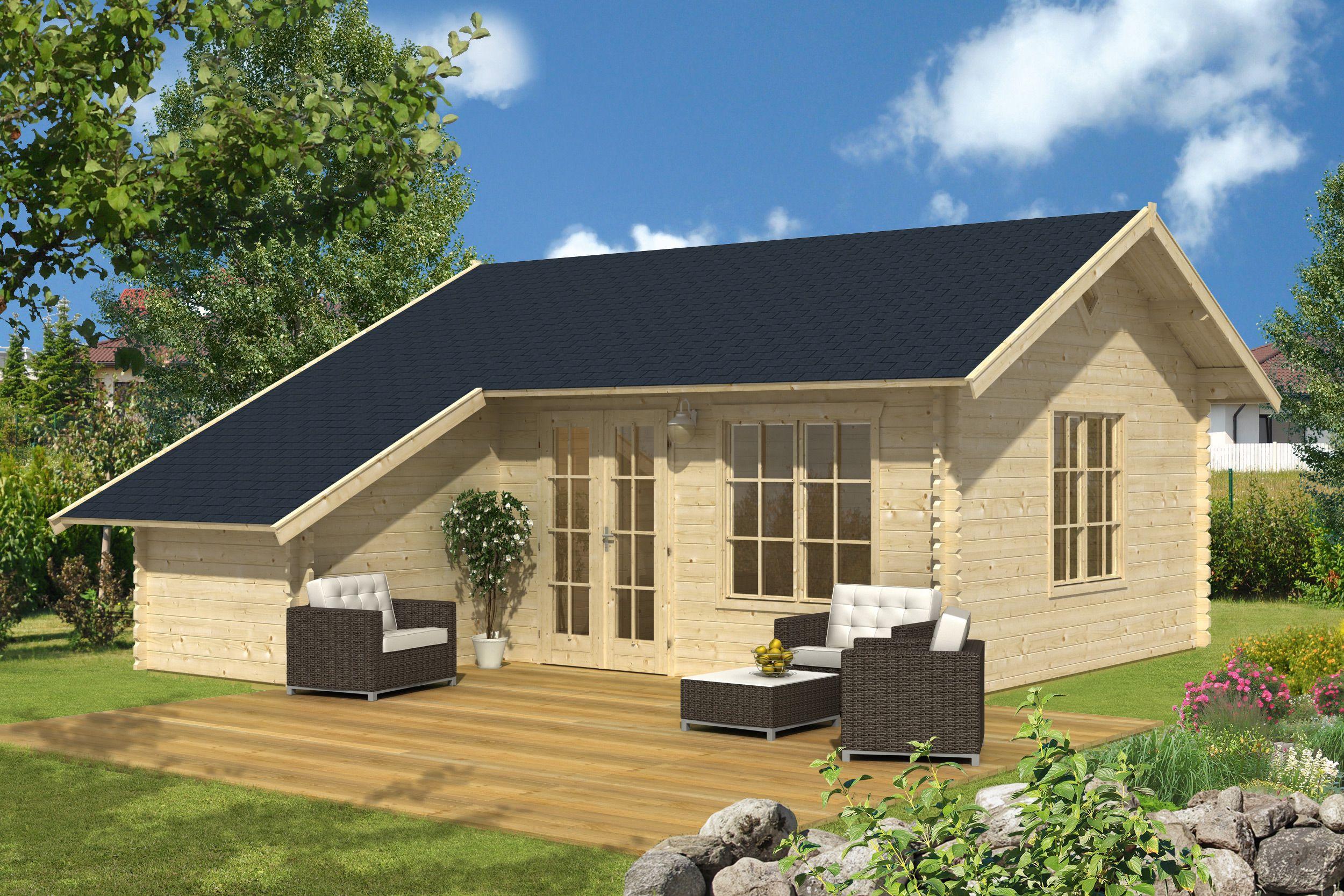 Gartenhaus Esbjerg Gartenhaus, Haus und Blockbohlenhaus