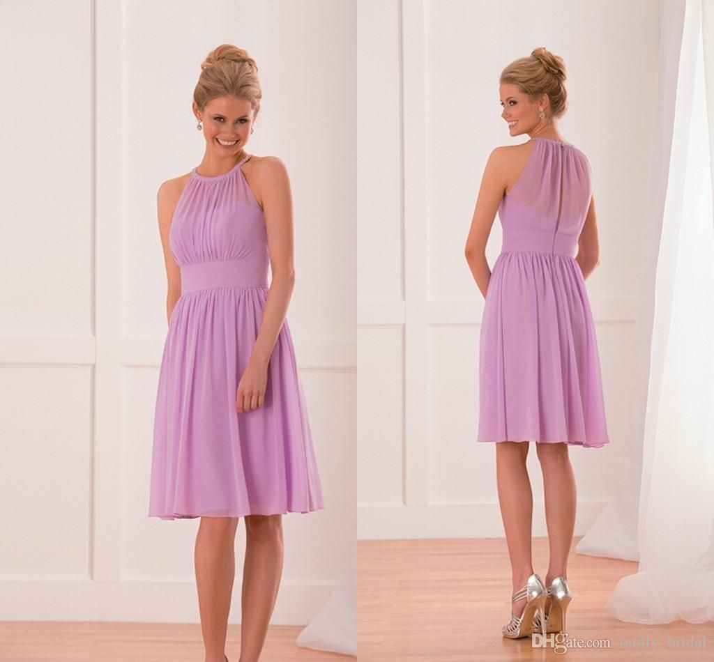 In Stock Cheap Short Bridesmaid Dresses 2016 Knee Length New Fashion ...