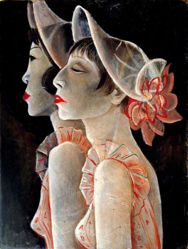 Jeanne Mammen Revuegirls 1928 29 Berlinische Galerie Kunstproduktion Art And Illustration Deutsche Kunstler