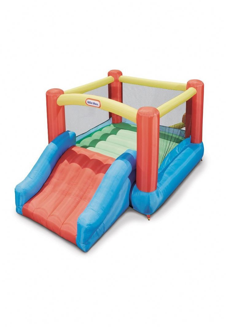 Why rent a bounce house when you can buy a small Little Tykes one on the 15330 Why rent a bounce house when you can buy a small Little Tykes one on the