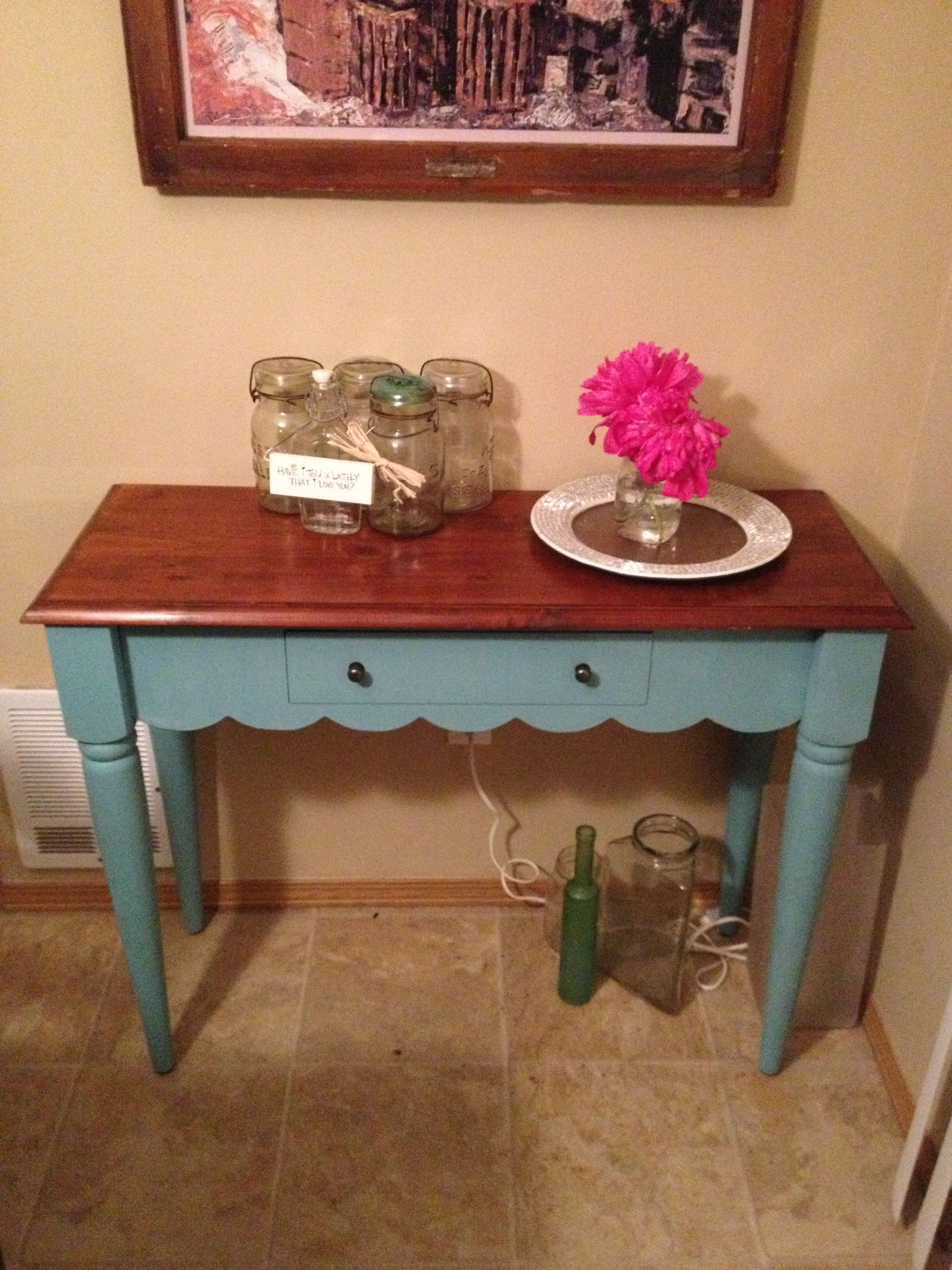 Painted table :)