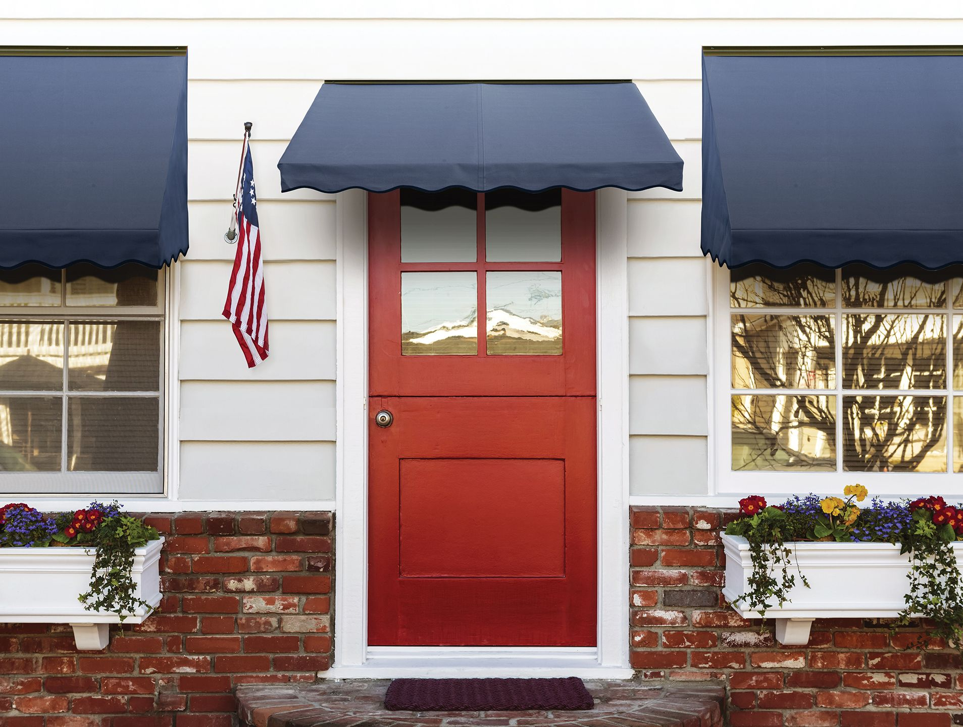 A NuImage window awning and/or fabric door canopy can be a great addition to : home awnings canopy - memphite.com