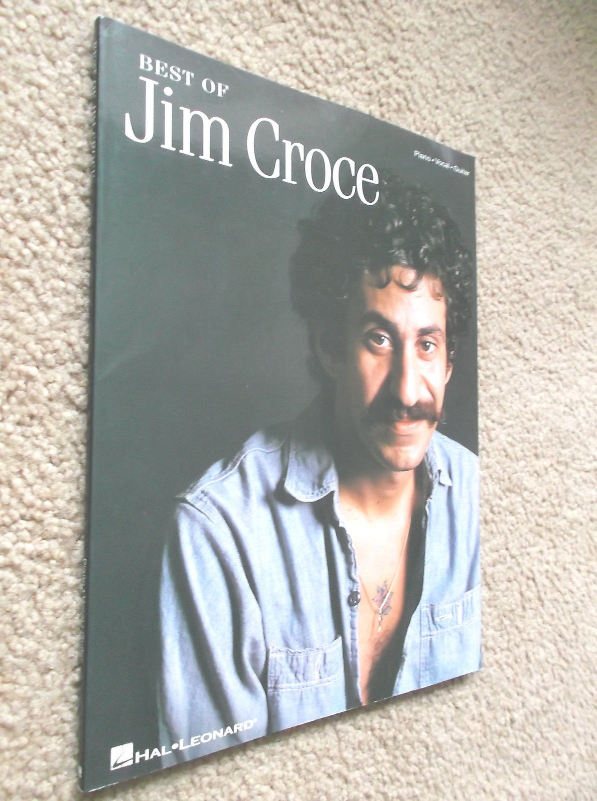 JIM CROCE THE BEST OF GUITAR PIANO ROCK MUSIC SONG BOOK HAL LEONARD ...