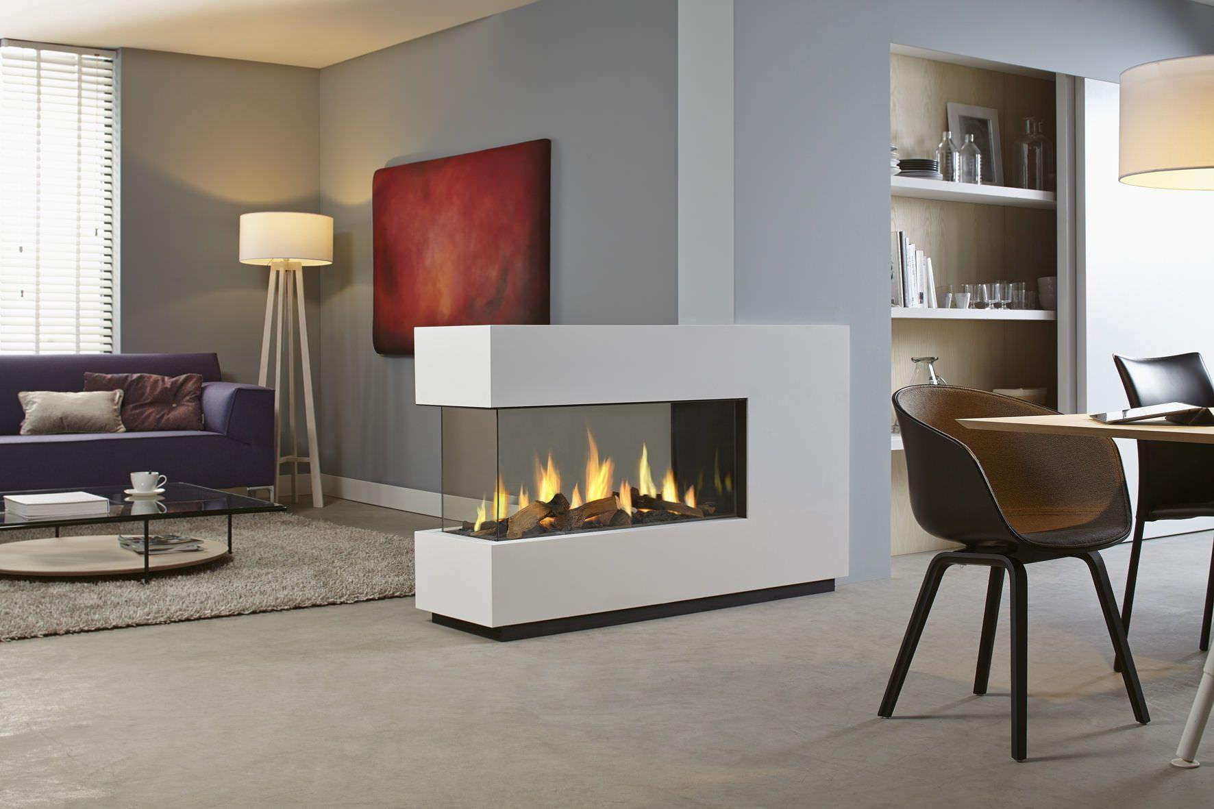 Moderne Kamine moderne kamine als raumteiler die schönsten einrichtungsideen