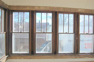 Antique Arts Craft Style Wood Window 3 Over 1 Architectural Salvage Good Condit House Styles House Windows