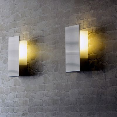 Modern interior design contemporary modern stainless steel fluorescent outdoor light in minimal rectangular form