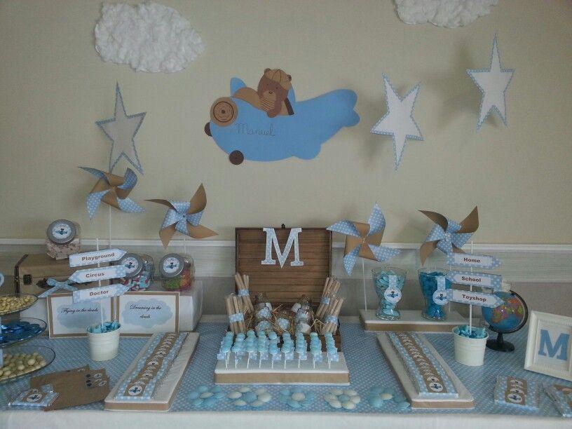 Dise o y decoraci n de eventos sevilla mesa dulce for Decoracion para bautizo