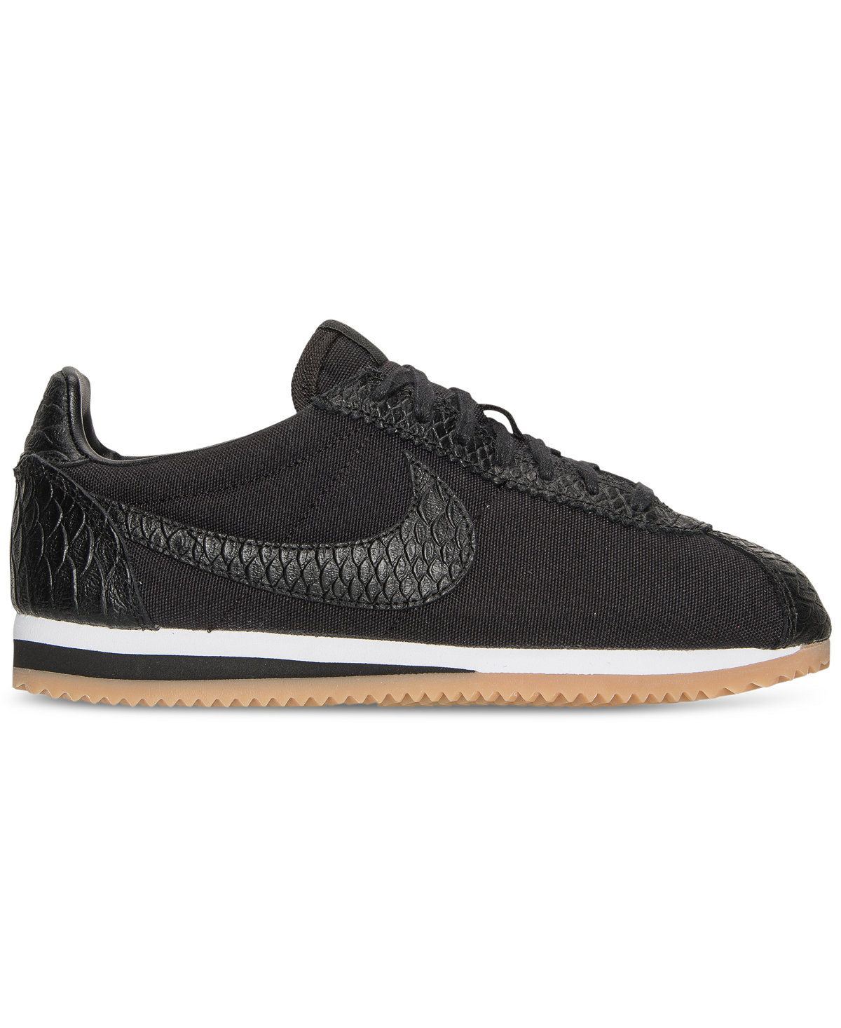 detailed look 96035 48e07 Nike Women s Classic Cortez SE Casual Sneakers from Finish Line - Sneakers  - Shoes - Macy s