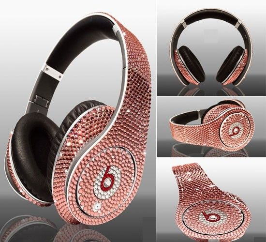 Even better pink Bling Beats by Dre!  410b923c1439