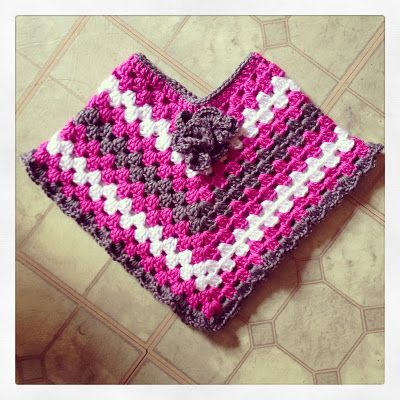 This is so cute ;-) PDDesigns: FREE Pattern: Toddler Poncho (sz 12 ...