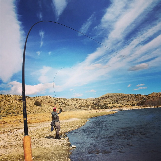 Рыбалка двойной tenkara монтажные Фото Даниэль Galhardo