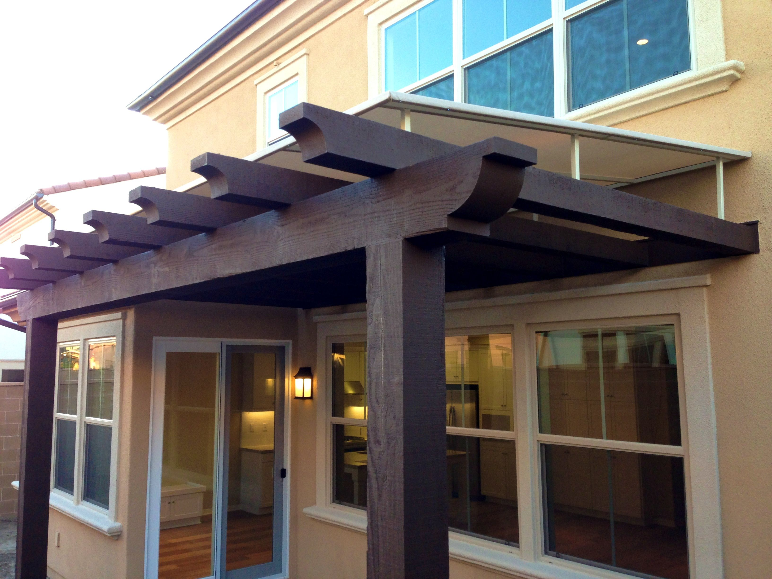 Bedroom Amusing Front Door Awning Pergola Cover And Wood