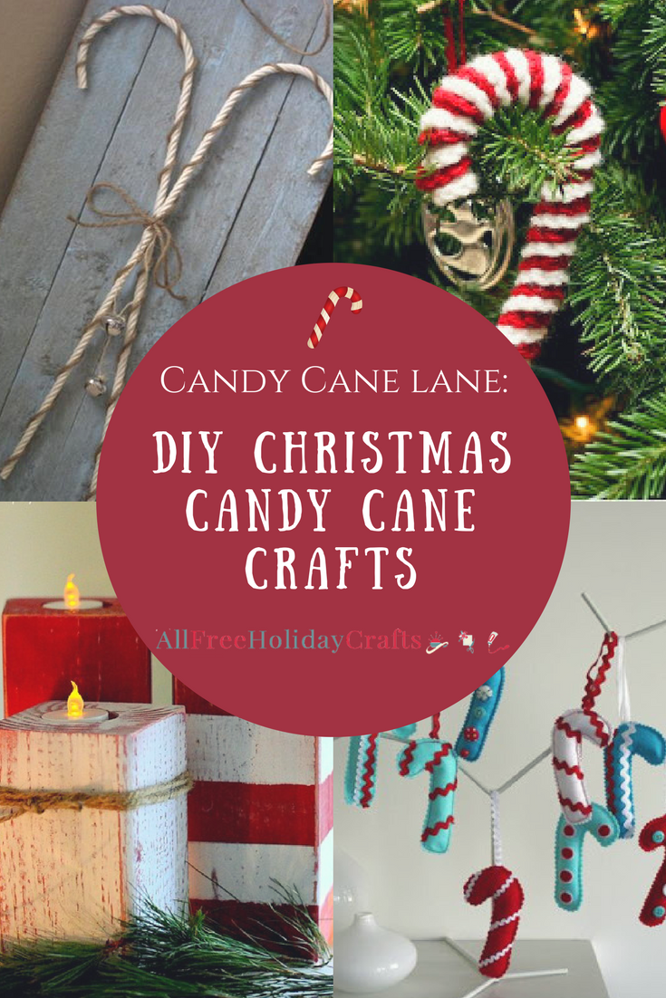 Candy Cane Lane Decorations Candy Cane Lane 28 Diy Christmas Candy Cane Crafts  Candy Cane