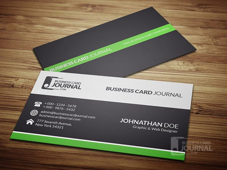 Pin by businesscardjournal on free business card templates download httpbusinesscardjournalclean professional business flashek