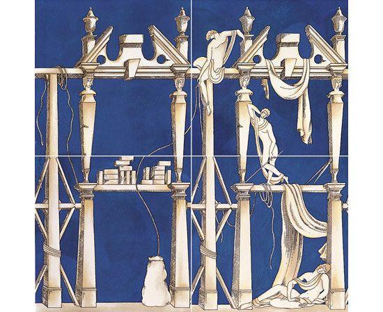 La casa degli efebi di ceramica bardelli prodotto idee - Piastrelle gio ponti ...