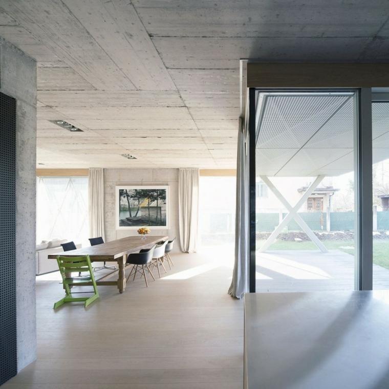 #Interior Design Haus 2018 Optische Effekte Bei Der Verwendung Von Beton In  Wänden 67 Ideen
