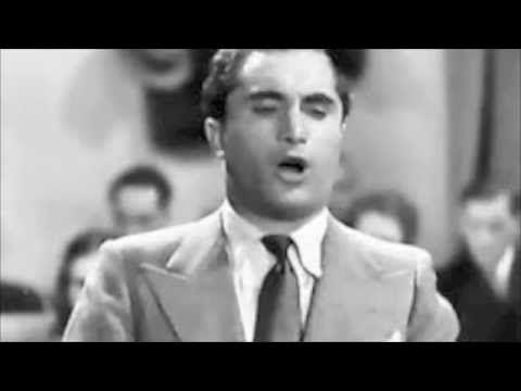 """▶ Joseph Schmidt; """"Glück, das mir verblieb"""" Die Tote Stadt - YouTube"""