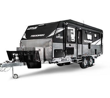 Trooper - Lotus Caravan   Small camper trailers, Off road ...