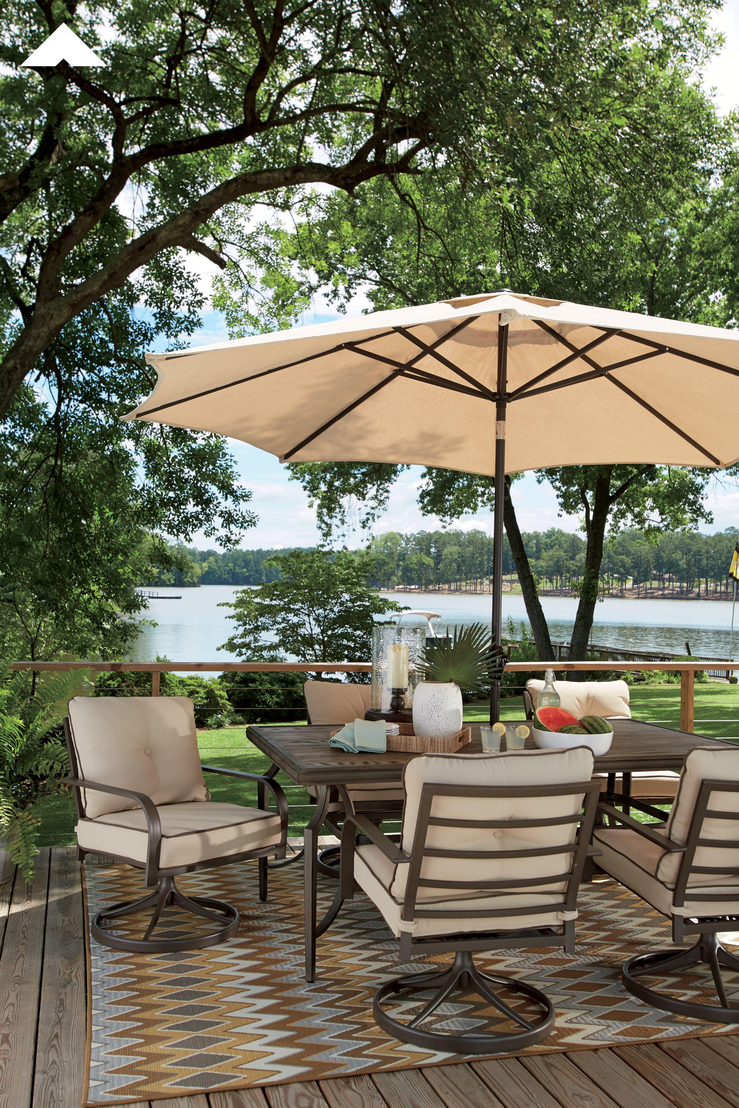 Predmore Brown Rectangular Dining Table By Ashley Furniture. |  #AshleyFurniture #Outdoorfurniture #Dining