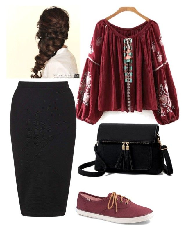 """""""Comfy Cute"""" by ohraee019 on Polyvore featuring Miss Selfridge, Keds and Disney"""