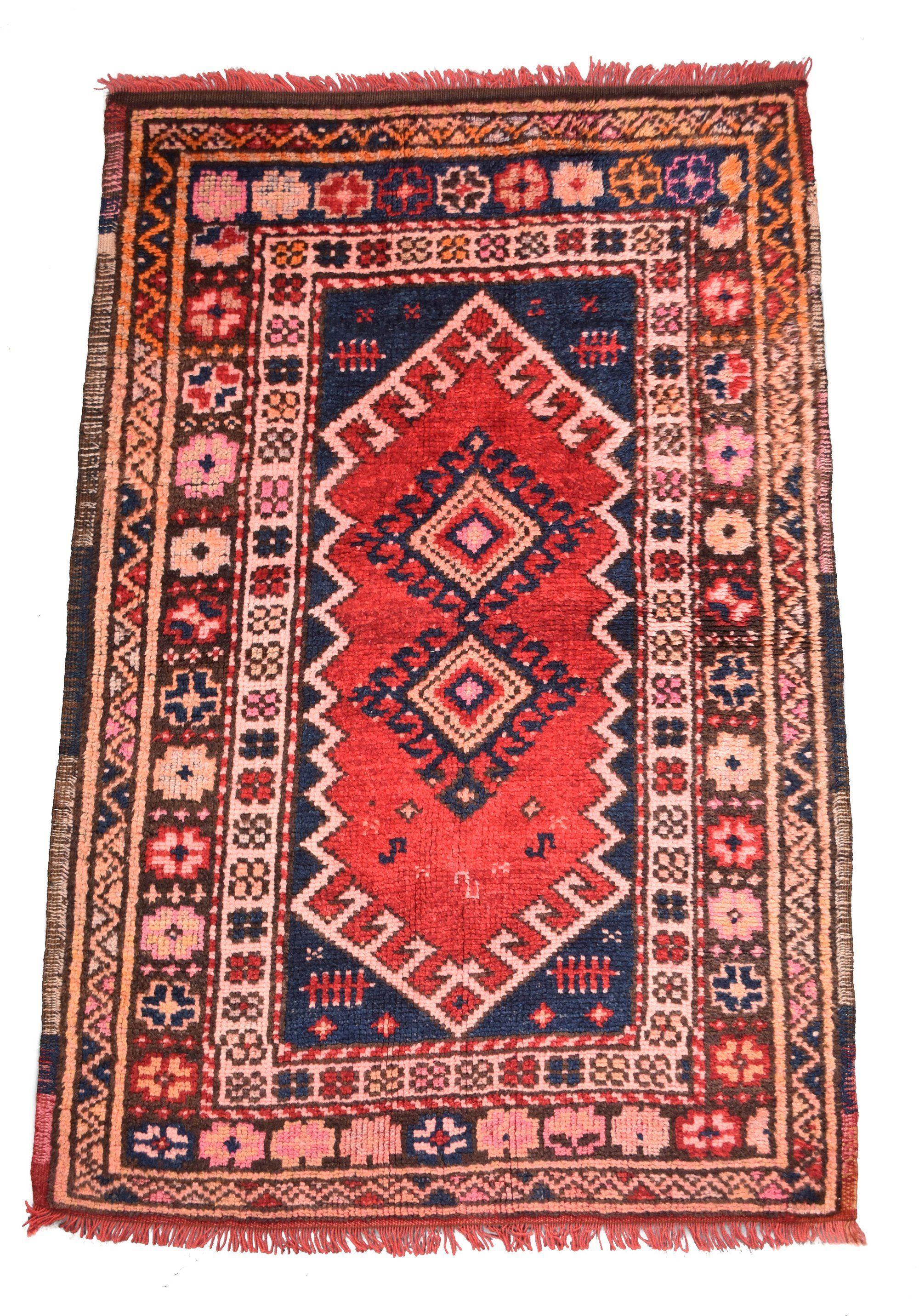 Antique Qashqai 2 9 X 4 3 Rug Weave Antiques Woven Rug