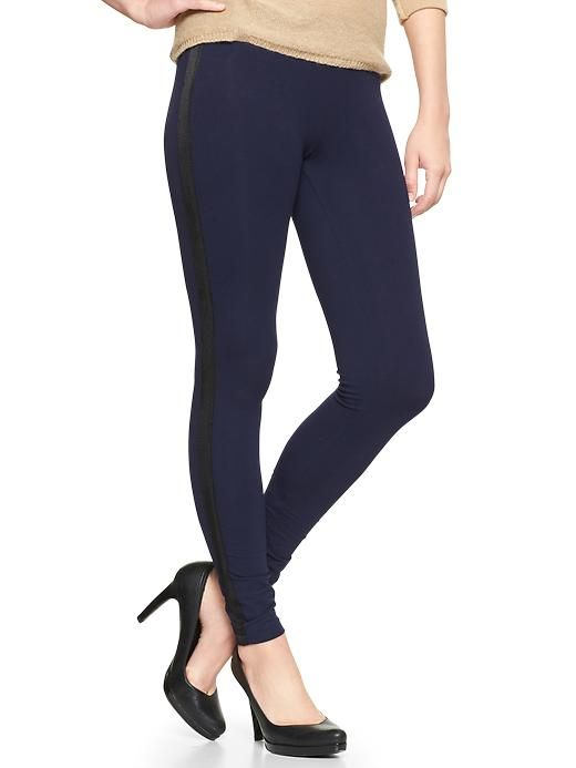 Tuxedo leggings   Gap