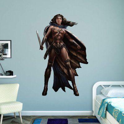 Superman   Wonder Woman Wall Decal   97 97125