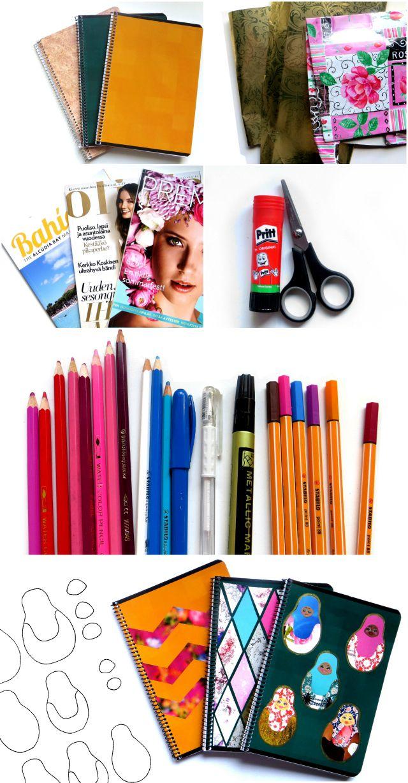 Diy Notebook Cover Ideas Diy Notebook Cover Diy Notebook