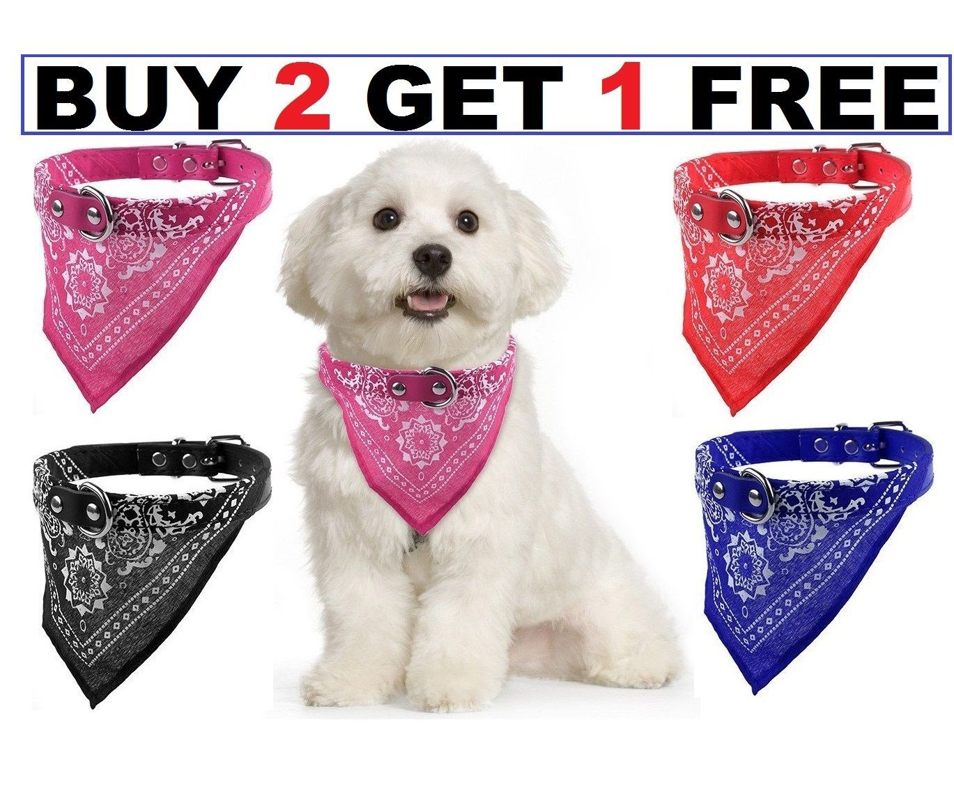 Dog Neck Scarf Bandana With Collar Adjustable Cat Pet Puppy Neckerchief Uk View More On The Link Http Www Zeppy Dog Neck Pet Puppy Dog Accessories
