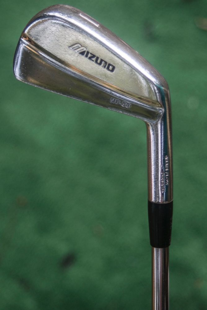 Mizuno MP-33 grain flow forged 1 iron - used golf club #Mizuno