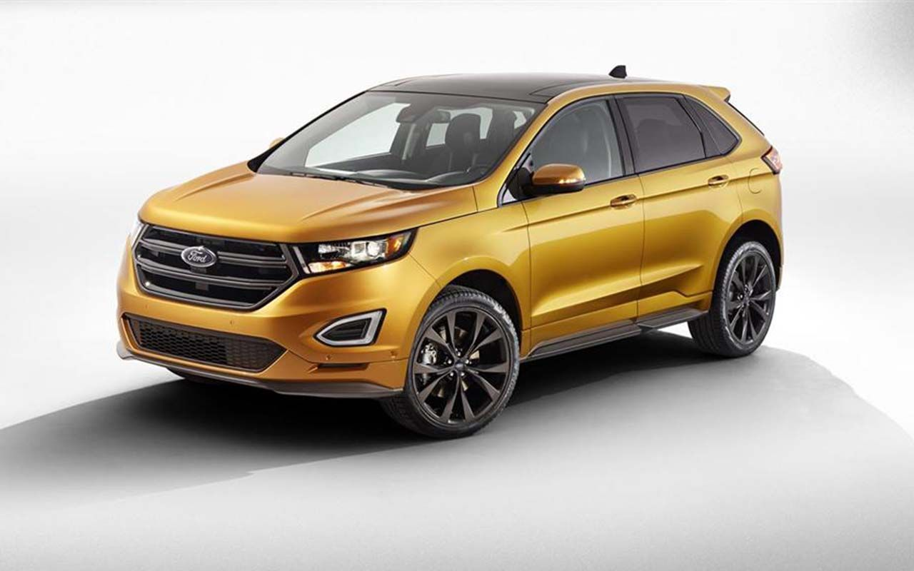 New model 2018 ford edge will reportedly get a host of improvements including more expressive styling new engines specs price and release date